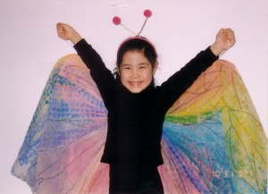 kid butterfly