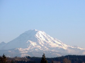 Mount Ranier is a beautiful sight indeed!
