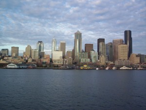 One of the most beautiful skylines in the world. In my opinion. ;-)
